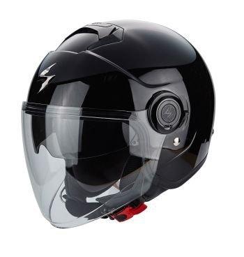 Scorpion EXO-CITY kask motocyklowy czarny połysk