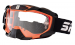 Gogle Shiro MX-902 gogle motocyklowe enduro pomarańczowe