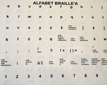Alfabet brajlowski