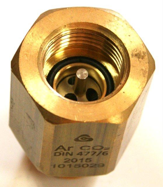 "Adapter W21.8x1/14""-DIN477/6 7mm"