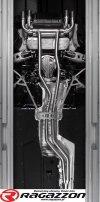 CATBACK tłumik środkowy przelotowy i końcowy z zaworem RAGAZZON EVO LINE sportowy wydech