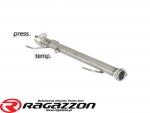 Katalizator / filtr DPF przelotowy RAGAZZON EVO INE sportowy wydech