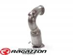 Katalizator metaliczny 63,5mm RAGAZZON EVO LINE sportowy wydech