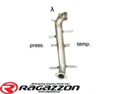 Katalizator / filtr DPF przelotowy RAGAZZON EVO LINE sportowy wydech