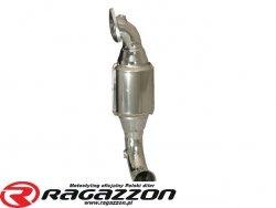 Downpipe kit katalizator metaliczny RAGAZZON EVO LINE sportowy wydech