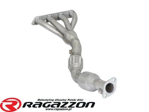 Kolektor wydechowy + katalizator metaliczny RAGAZZON EVO LINE sportowy wydech