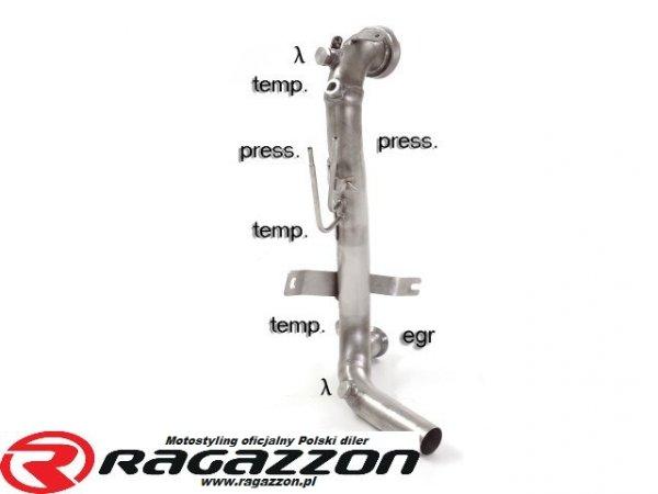 Katalizator przelot / filtr DPF RAGAZZON EVO LINE sportowy wydech