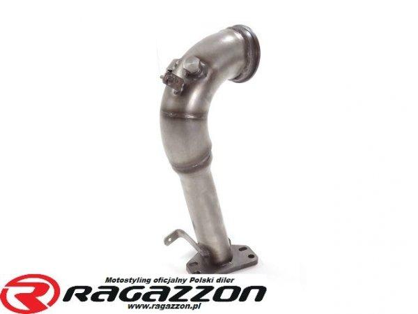 Downpipe 63,5 mm katalizator przelotowy RAGAZZON EVO LINE sportowy wydech