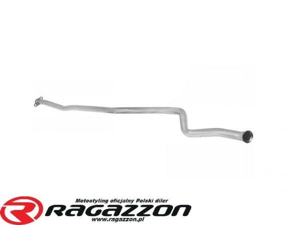 Katalizator + tłumik środkowy przelotowy RAGAZZON EVO ONE LINE sportowy wydech