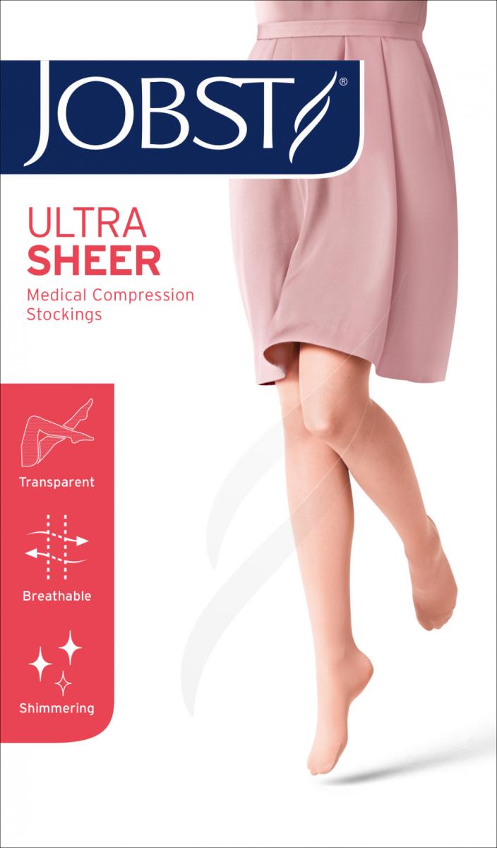 JOBST ULTRA SHEER - Podkolanówki uciskowe CCL1