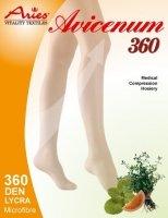 ARIES Podkolanówki przeciwżylakowe II stopnia ucisku z mikrokapsułkami ziołowymi AVICENUM 360 (23 - 32 mmHg)