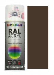 MOTIP lakier brązowy sepia farba połysk 400 ml akrylowy acryl szybkoschnący RAL 8014
