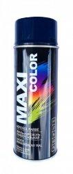 Maxi szafirowy niebieski lakier farba spray RAL 5003 emalia uniwersalna 400 ml