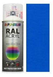 MOTIP lakier niebieski farba półmat 400 ml akrylowy acryl szybkoschnący RAL 5015
