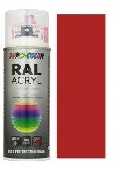 MOTIP lakier czerwony ognisty farba półmat 400 ml akrylowy acryl szybkoschnący RAL 3000