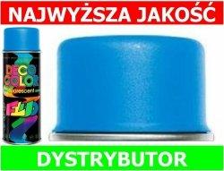 LAKIER FARBA FLUORESCENCYJNY FLUO spray NIEBIESKI 400 ml