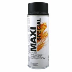 Maxi farba żaroodporny wysokotemp spray emalia czarna 400ml