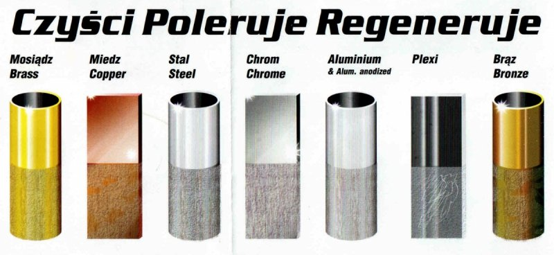 AUTOSOL pasta polerska metal polish do metalu, chromu, miedzi, niklu 75ml