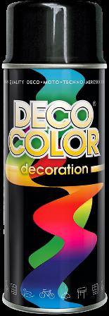 Czarny połysk farba lakier spray aerozol 400ml RAL 9005