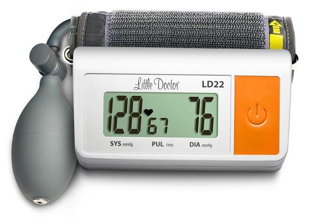 Ciśnieniomierz półautomatyczny (półautomat) - Little Doctor LD22