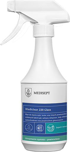 Mediclean 220 Glass - płyn do szyb i luster 500 ml