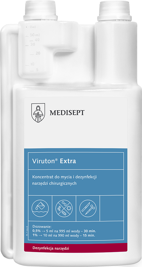 Viruton Extra 1l (do mycia i dezynfekcji narzędzi)