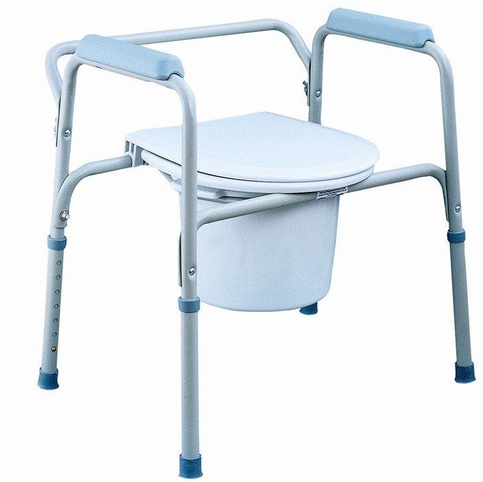 Przenośna toaleta - krzesło WC