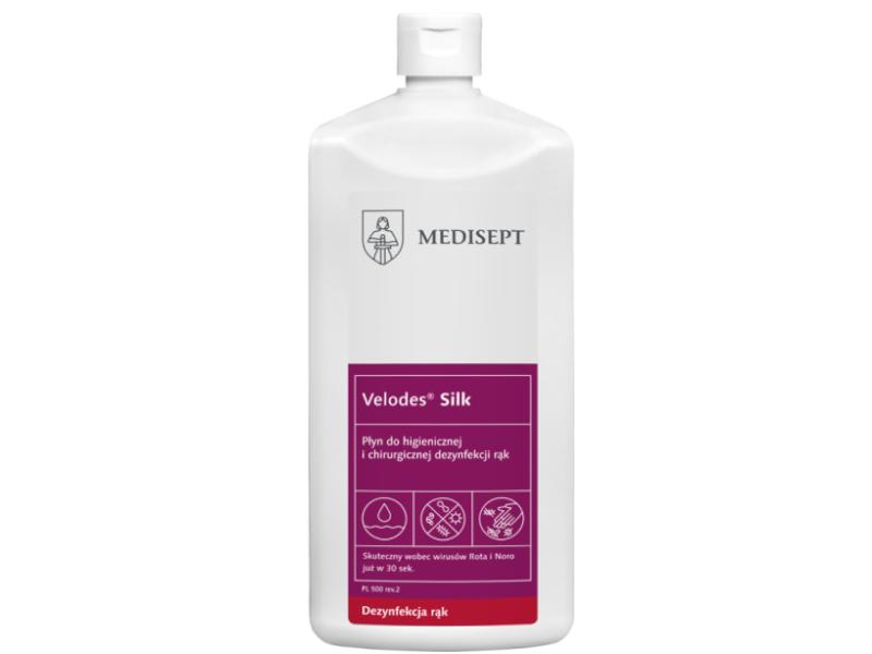 Velodes Silk - płyn do dezynfekcji rąk 500ml