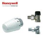 Zestaw Przyłączeniowy Kątowy Honeywell do Grzejników Boczno Zasilanych