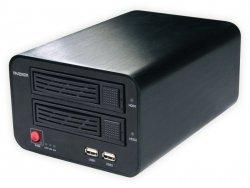 XNR-2401M ** Końcówka serii - cena promocyjna **  16 kanałów, 2xSATA, VGA, HDMI, 2 porty LAN, maks. 16 kamer, maks strumień 24Mb