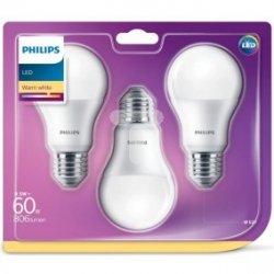 Żarówka LED 8,5W (60W) A60 E27 WW 230V FR ND 3BC/6 2700K 806lm 929001313595 (3szt.)