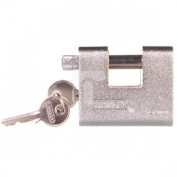 Kłódka mosiężna zbrojona 60mm /trzpieniowa/ S742-022