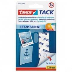 Płatki samoprzylepne Tesa TACK 72szt. 59408-00000-00