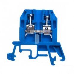 Złączka szynowa gwintowa ZUG-G 2,5 niebieska R34RR-01010100201