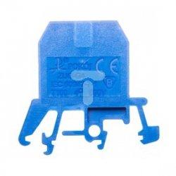 Złączka szynowa gwintowa ZUG-G 4 niebieska R34RR-01010100901