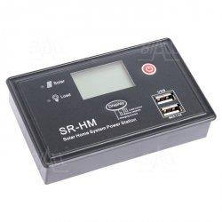 Regulator ładowania solarny PWM SR-HM2-CU10 10A 12/24V