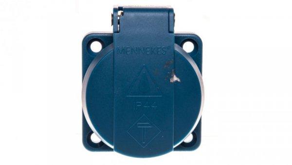 Gniazdo tablicowe 3P 16A 230V niebieskie IP44 11111 MEN11111