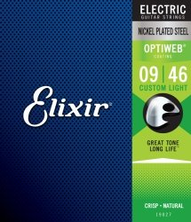 Elixir OptiWeb Custom Light 9-46 3 Pack