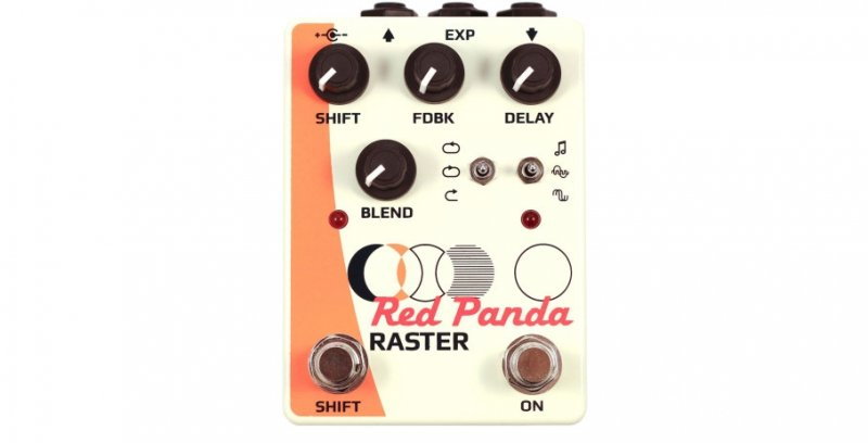Red Panda Raster - Delay