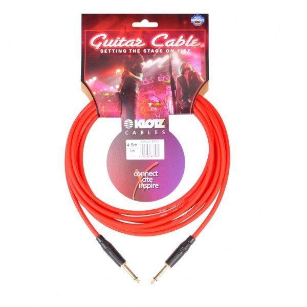 Klotz 3m Kabel Gitarowy Aphenol Prosty/Prosty