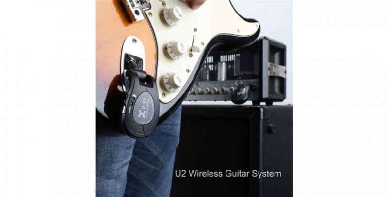 Xvive U2 Guitar Wireless System Black