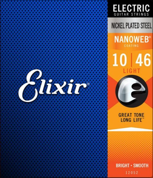 Elixir 12052 NanoWeb Light 10-46