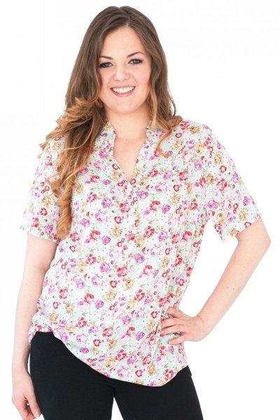 Koszula stójka, bluzka, Kreator Studio Mody, r44
