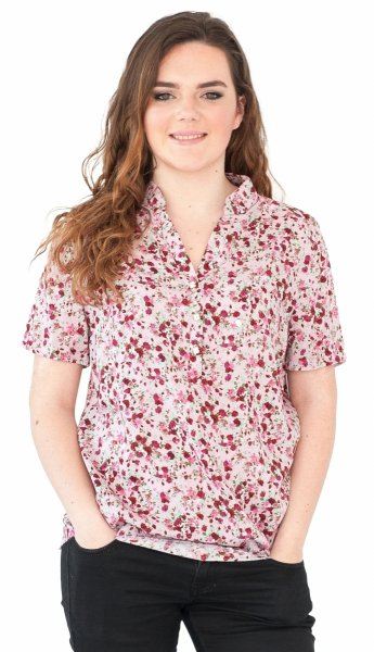 Koszula stójka, bluzka, Kreator Studio Mody, r48