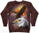 Eagle And Clouds - Bluza The Mountain