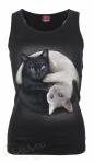 Yin Yang Cats - Razor Top Spiral – Ladies