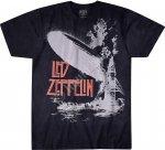 Led Zeppelin Exploding  - Liquid Blue