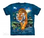 3D Tiger - The Mountain - Junior
