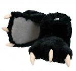 Black Bear Paw Slippers - Bačkory LazyOne
