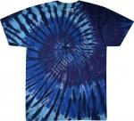 Blue Spiral Streak - Liquid Blue